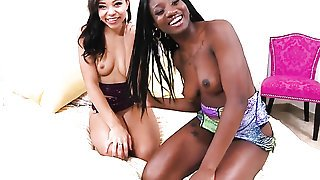 Piercings african Adrian Maya just loves pussy licking and cant say No to lesbian Tyler Steel